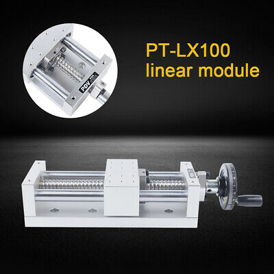 New Slide Stage Actuator Ball Screw Motion Table Linear Guide Rail Cnc Pt-lx100