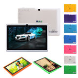 "IRULU Tablet eXpro X1a 7"" New Google Android 4.4 KitKat 16GB Quad Core Dual Cam"