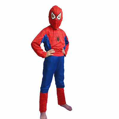 Kinder Spiderman Kostüm Spinnenkostüm Spider /Man Superheld Gr. - Spider Man Neue Kostüm