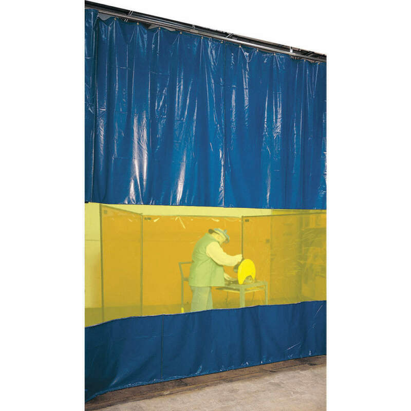 Welding Curtain Partition Kit,10ftx10ft AWY00