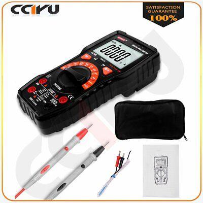 True-rms Digital Multimeter 6000 Counts Square Wave Voltage Ammeter Meter Us New