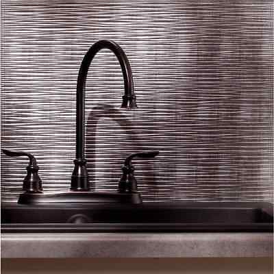 Decorative Kitchen Wall Tiles (Kitchen Backsplash Silver Decorative Vinyl Panel Wall Tiles Bathroom)