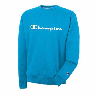 Champion Men's Powerblend® Crew, Script Logo New Colors