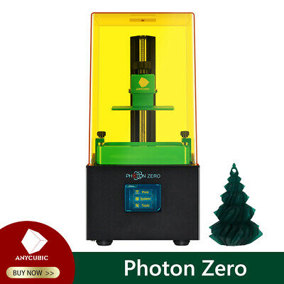 US ANYCUBIC LCD-based Photon Zero 3D Printer High Precision UV PhotoCuring Resin