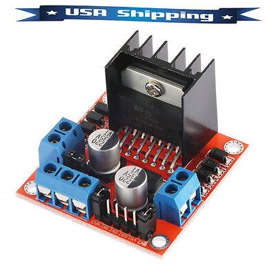 Stepper Motor Drive Controller Board Module L298n Dual H Bridge Dc For Arduino
