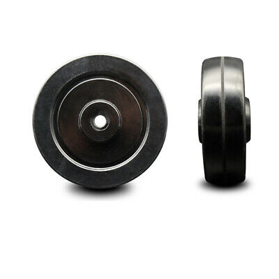 Scc - 4 Soft Rubber Wheel Only - 38 Bore - 200 Lbs Capacity