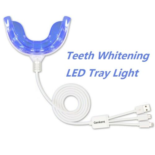 USB LED Dental Teeth Whitening Light Tray Bleaching White Accelerator New Health & Beauty