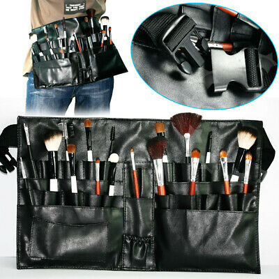 New Artist Makeup Brushes Tool Case With Belt Apron Strap Professional
