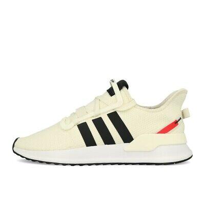 adidas U_Path Run White Black Shock Red Schuhe Sneaker Weiß Schwarz Pink