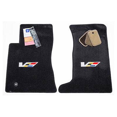 2009-2013 Cadillac CTS-V Sedan Ebony Front Floor Mats Ultimat 32oz 2PLY InStock, used for sale  Shipping to Canada