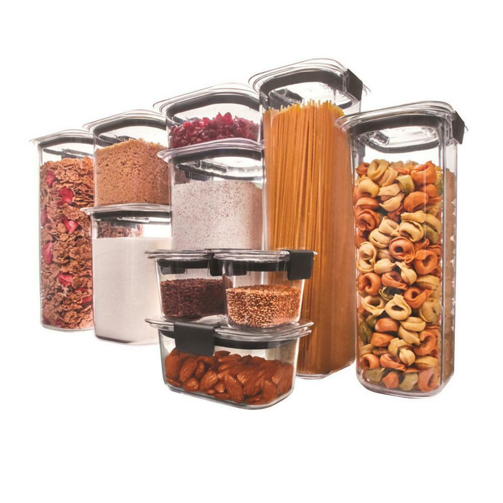 brilliance 10 piece pantry food storage container