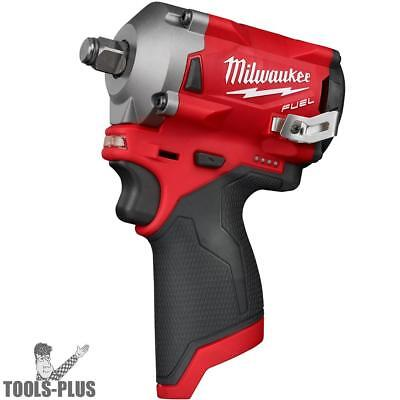 Milwaukee 2555-20 M12 FUEL Stubby Cordless 1/2