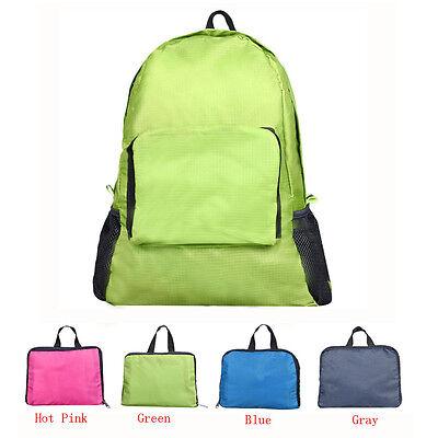 Practical Folding Shoulder Bag Female Outdoor Double Root Backpack WHolesale