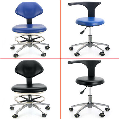Pu Leather Dental Doctors Stool Adjustable Dentist Mobile Chair Ups