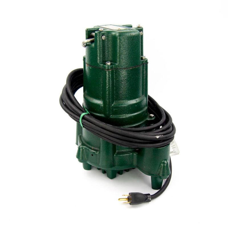 Zoeller N140 Submersible Sump Pump 1 HP Cast Iron 115VAC