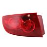 Fits 04-06  3 SEDAN LEFT DR TAIL LAMP ASSEMBLY QUARTER MOUNTED,RED LENS