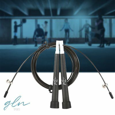 Jump Rope CrossFit Boxing Weighted Adult Ball Bearing Beaded Fitness Gym Speed (Adult Jump Rope)
