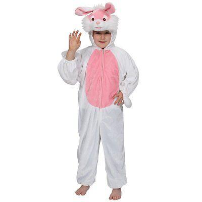 Osterhasen-Kaninchen-Kinderkostüm Karneval Alice Pet Größen 3-13 - Alice Kaninchen Kostüm