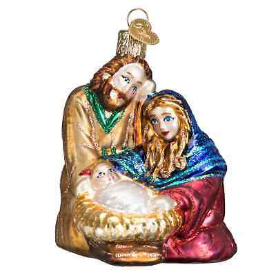 """Holy Family"" (10207) Old World Christmas Glass Ornament"