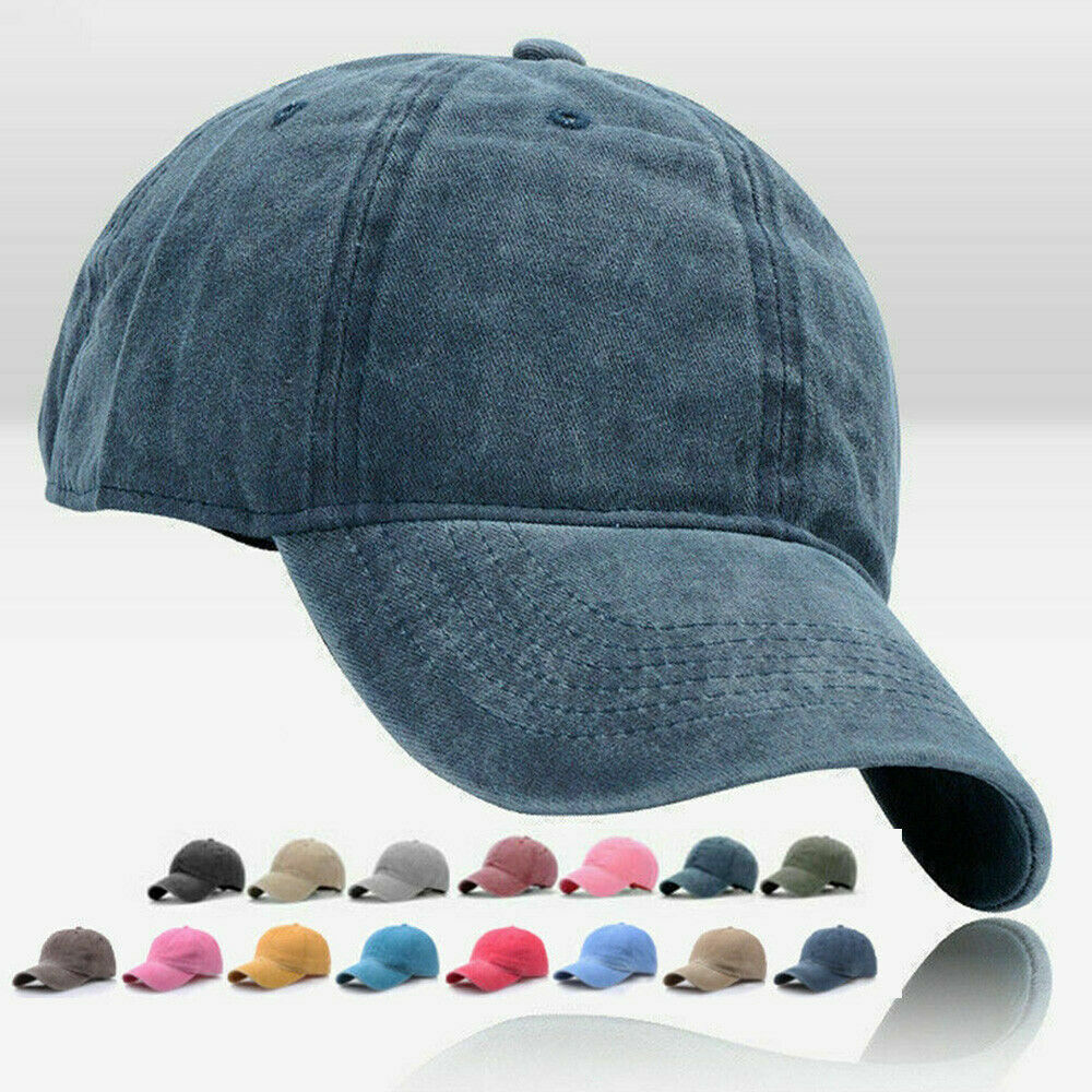 one size fits all unbranded Unisex adjustable baseball cap box of 24 items