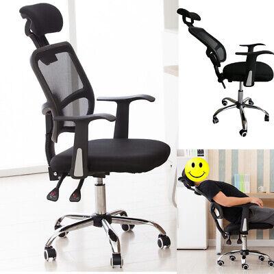 Ergonomic Mesh High Back Office Chair Computer Desk Task Executive w/Headrest