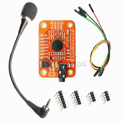 Voice Recognition Module V3 Sensor Board Kits Compatible With Arduino Uart Gpio