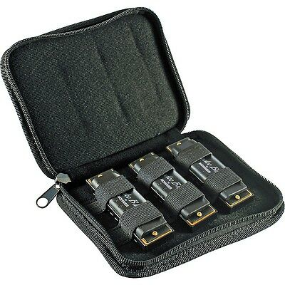 New! Hohner Hoodoo Blues Harmonica Harp 3-Pack with Case  Key of C - D - G