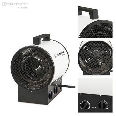 TROTEC TDS 30 R Calefactor eléctrico portátil, Aerotermo, Generador con 5 kW