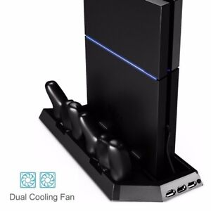 Zacro PS4 Vertical stand with coolers