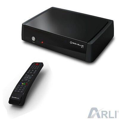 GigaBlue HD X1 Linux E2 Sat Receiver Full HDTV SAT PVR Ready IPTV Enigma LAN