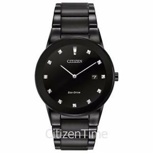 Citizen Men's AU1065-58G Axiom Analog Display Black Watch