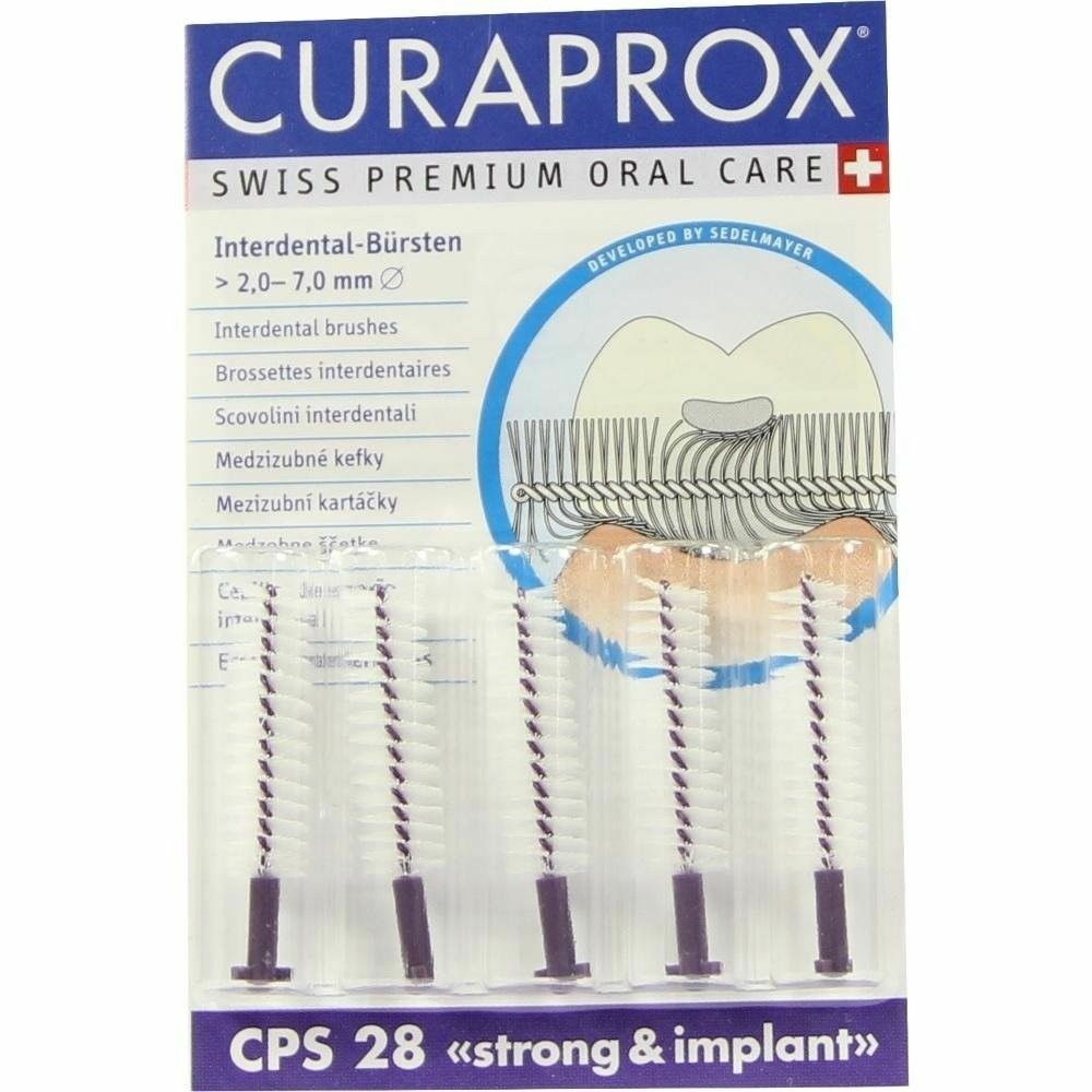 Curaprox CPS 28 Violet Strong And Implant Interdental Brush