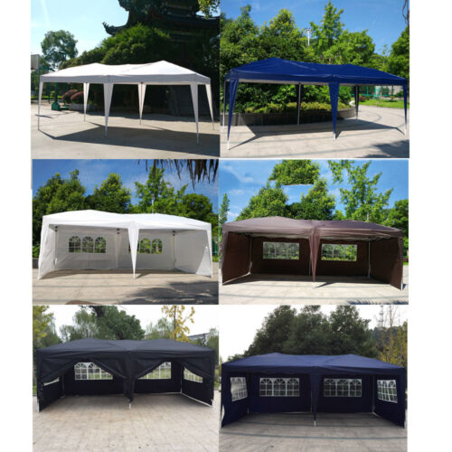 Изображение товара 10x20 EZ Pop UP Wedding Party Tent Folding Gazebo Canopy Heavy Duty/ Carry Case
