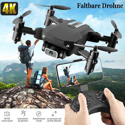Drone Pieghevole Con Telecamera WiFi FPV Drone HD 4K Grandangolare Da 120 ° F8W5