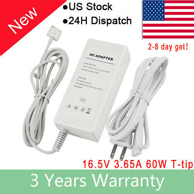 60W Laptop Power Charger Cord for Apple MAC MacBook A1185 A1278 A1181 A1184 FA