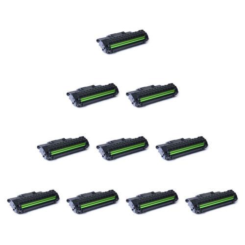 10pk Black Toner Cartridge For Samsung Ml-2570 Ml-2571n S...