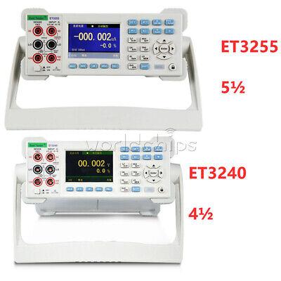 Et3240 Et3255 4 5 Digit Multimeter Digital Multimeter Accuracy 0.03 3.5 Tft