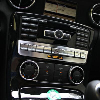 Mercedes Benz SLK R172 280 200 350 AMG Brabus Schalter Leiste Alu Blende ESP PDC