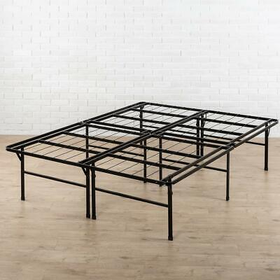 Zinus Bed Frame 18 in. High Folding Design Easy Storage Twin
