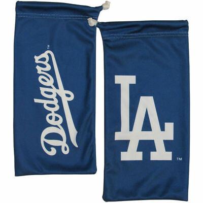 Los Angeles Dodgers Microfiber Bag for Sunglasses Glasses MLB Licensed Baseball (Dodgers Sunglasses)