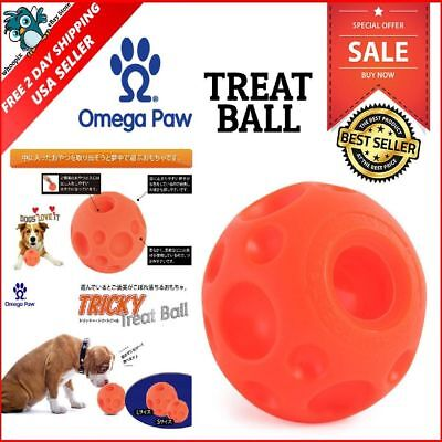 Tricky Treat Ball Pet Dog Play Toys Dispenser Toy Pets Supply Interactive Large ()