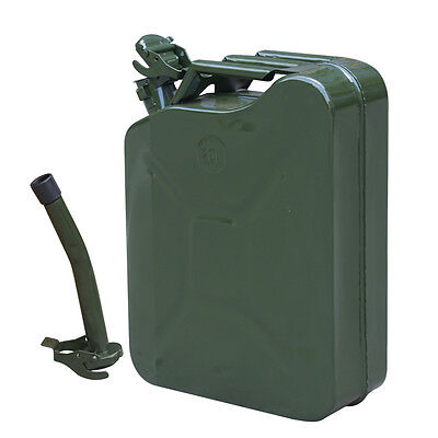Off Road Jerry Can 5 gallon 20L Fuel Tank Emergency Backup Army Military