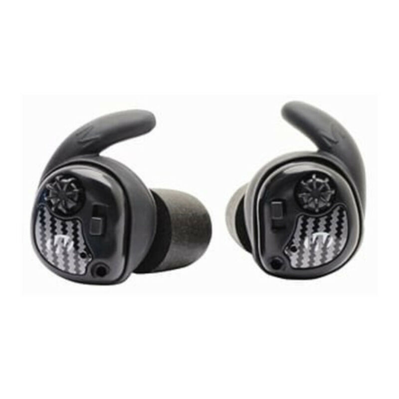 Walkers Silencer In Ear Buds Black and Carbon