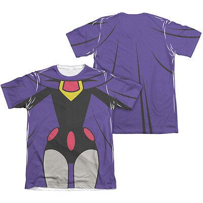 TEEN TITANS GO RAVEN COSTUME Halloween Adult Men's Graphic Tee Shirt - Raven Teen Titans Halloween Costume