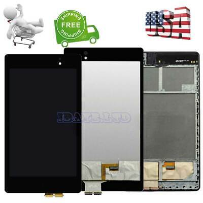 For Asus Google Nexus 7 2nd Gen 2013 LCD Digitizer Touch Screen + Frame Replace Asus 7 Screen
