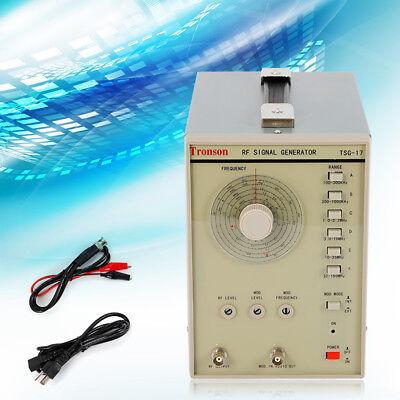 Radio High Frequency Rf Signal Generator 100 Khz150 Mhz Power Cord Kit Usa
