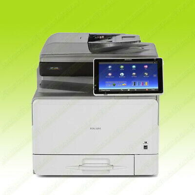Ricoh Aficio Mp C306 Color Laser Letter Mfp Printer Copier Scanner 31ppm