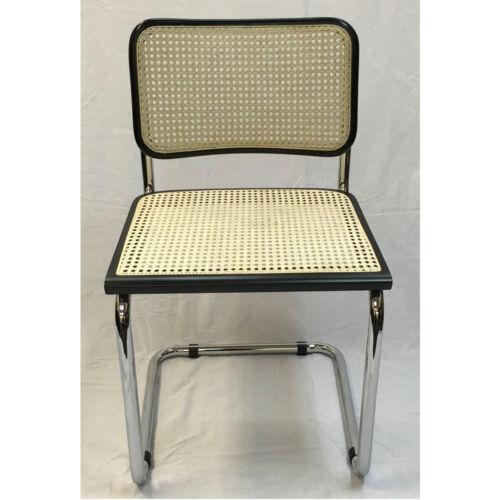 Breuer Metal Chair - BLACK