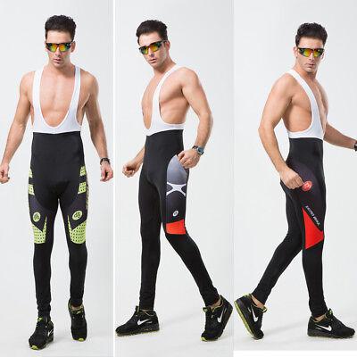 Zerobike Mens Riding Race Gear Cycling Bib Pants Bicycle Pad Brace Tights Pants