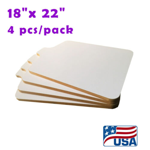 """4PCS Screen Printing Pallet 18""""x 22"""" T-Shirt Printing Platen with No Brack"""